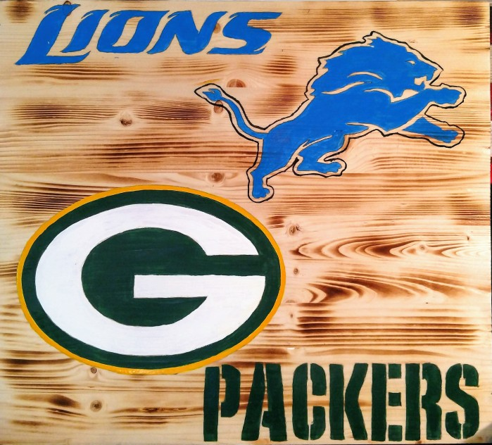Image result for lions vs packers